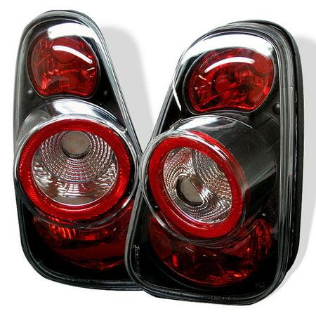 - Fits 02-06 Mini Cooper Hatchback 05-08 Mini Cooper Convertibles Blk Tail Lights