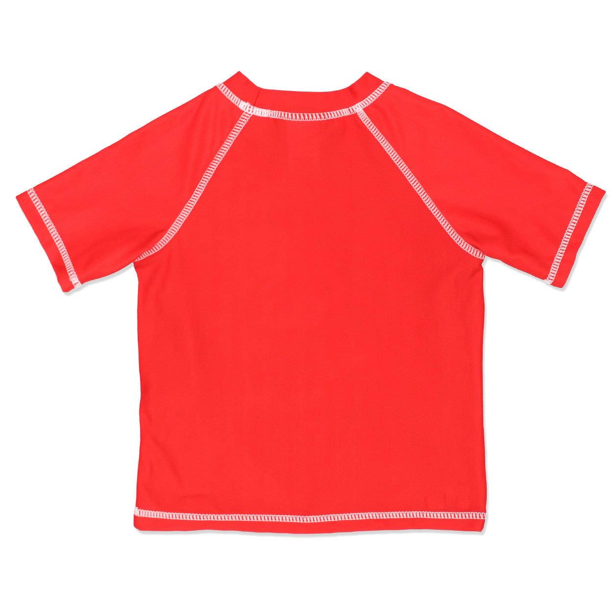 PJ Masks Little Boys Toddler Rash Guard and Swim Trunks Set