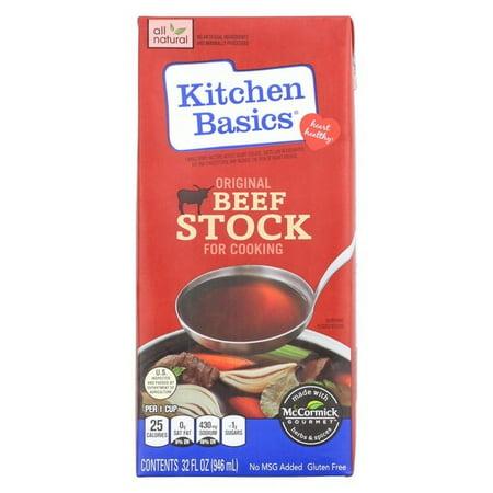 Kitchen Basics Beef Stock (Kitchen Basics Beef Stock - Pack of 12 - 32 Fl Oz.)