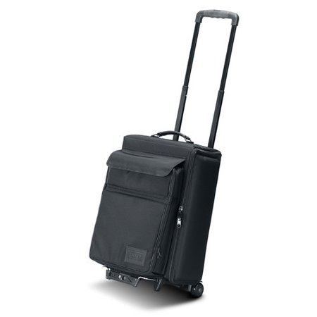 Jelco Padded Hard Side Wheeled Projector Case with Removable Laptop Case: 22'' H x 14'' W x 11'' D -  1312RP
