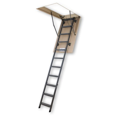 Fakro 8.10 ft. Insulated Steel Attic Ladder