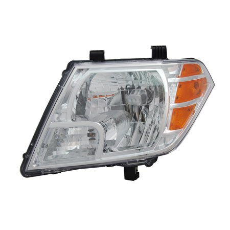 Tyc Nissan Driver - TYC 20-9080-00-1 Left Headlight Assembly for 2009-2016 Nissan Frontier NI2502188