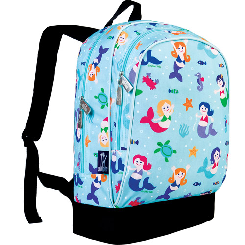 Wildkin Olive Kids Mermaids Sidekick Backpack