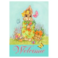 Toland Home Garden Easter Bounty Flag