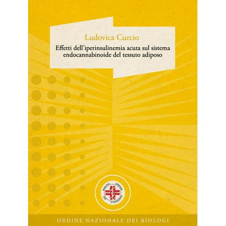 Effetti dell'iperinsulinemia acuta sul sistema endocannabinoide del tessuto adiposo - eBook](Effetti Sonori Halloween)