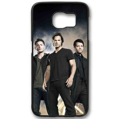 Ganma Sam Winchester Dean Winchester and Chastel Supernatural Case For Samsung Galaxy Case (Case For Samsung Galaxy S5 White) - Sam And Dean Winchester Halloween Costumes