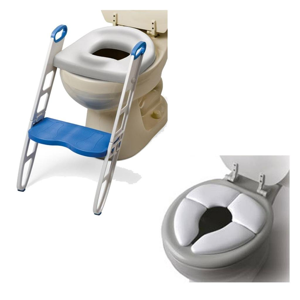 Mommy's Helper Contoured Cushie Step-Up with Cushie Traveler Potty Seat