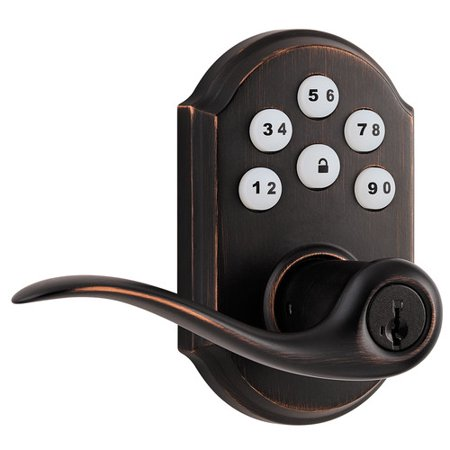 Kwikset Smartcode Touchpad Electronic Tustin Lever with Smart Key