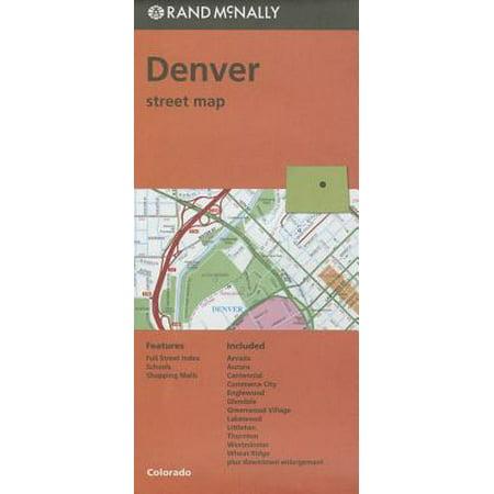 Folded Map Denver Co: 9780528008870 (Denver Co We)