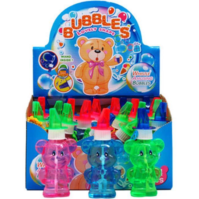 DDI 2267136 Plastic Teddy Bear Bottle Bubbles by DDI