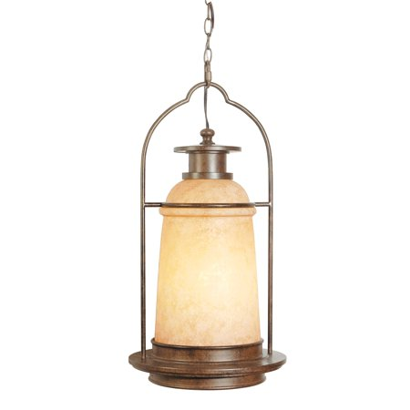 Bronze Large Outdoor Pendant (Craftmade Portofino Aged Bronze Large Pendant Outdoor Lighting - Z4721-98)