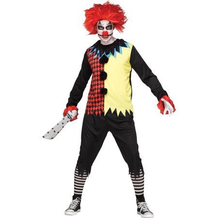 Freakshow Clown Men's Adult Halloween Costume