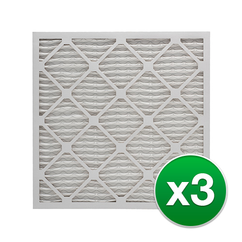 Replacement Pleated Air Filter For Honeywell FC100A1029 AC 16x25x4 MERV 13 (3 Pack)