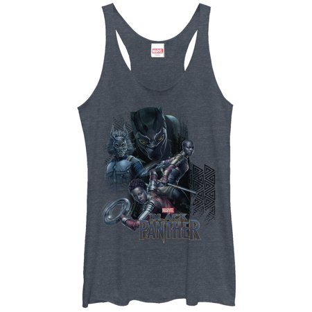 Marvel Women's Black Panther 2018 Character View Racerback Tank Top
