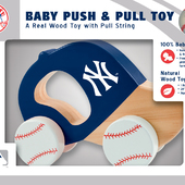 MLB New York Yankees Push/ Pull Toy