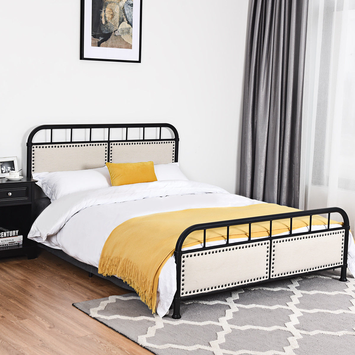 Bed Frame Upholstered Platform