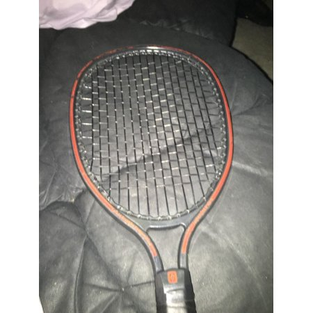 graphite composite suspension system tennis racket Black And -