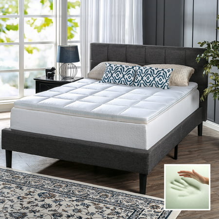 Spa Sensations Comfort Bliss Memory Foam And Fiber Quilted
