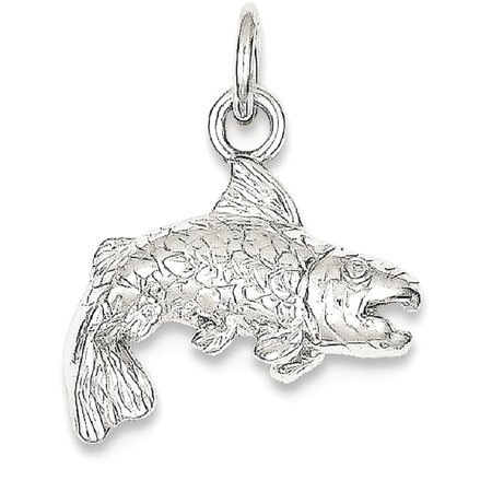 Ice carats 925 sterling silver fish pendant charm necklace animal ice carats 925 sterling silver fish pendant charm necklace animal sea life fine jewelry ideal gifts aloadofball Image collections