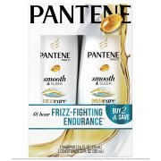 Pantene Pro-V Smooth & Sleek Shampoo and Conditioner Dual Pack, 24.6 fl oz