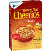 Honey Nut Cheerios Gluten Free Breakfast Cereal, 17 oz