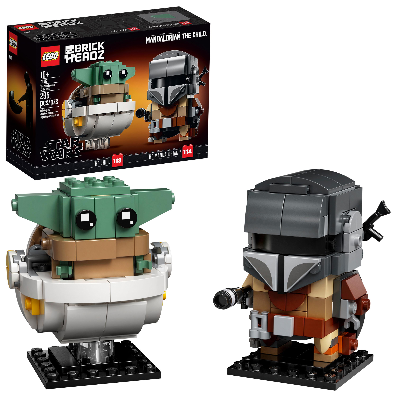 114 # Lego Figure Accessories Hair Dark Brown for Woman Star Wars