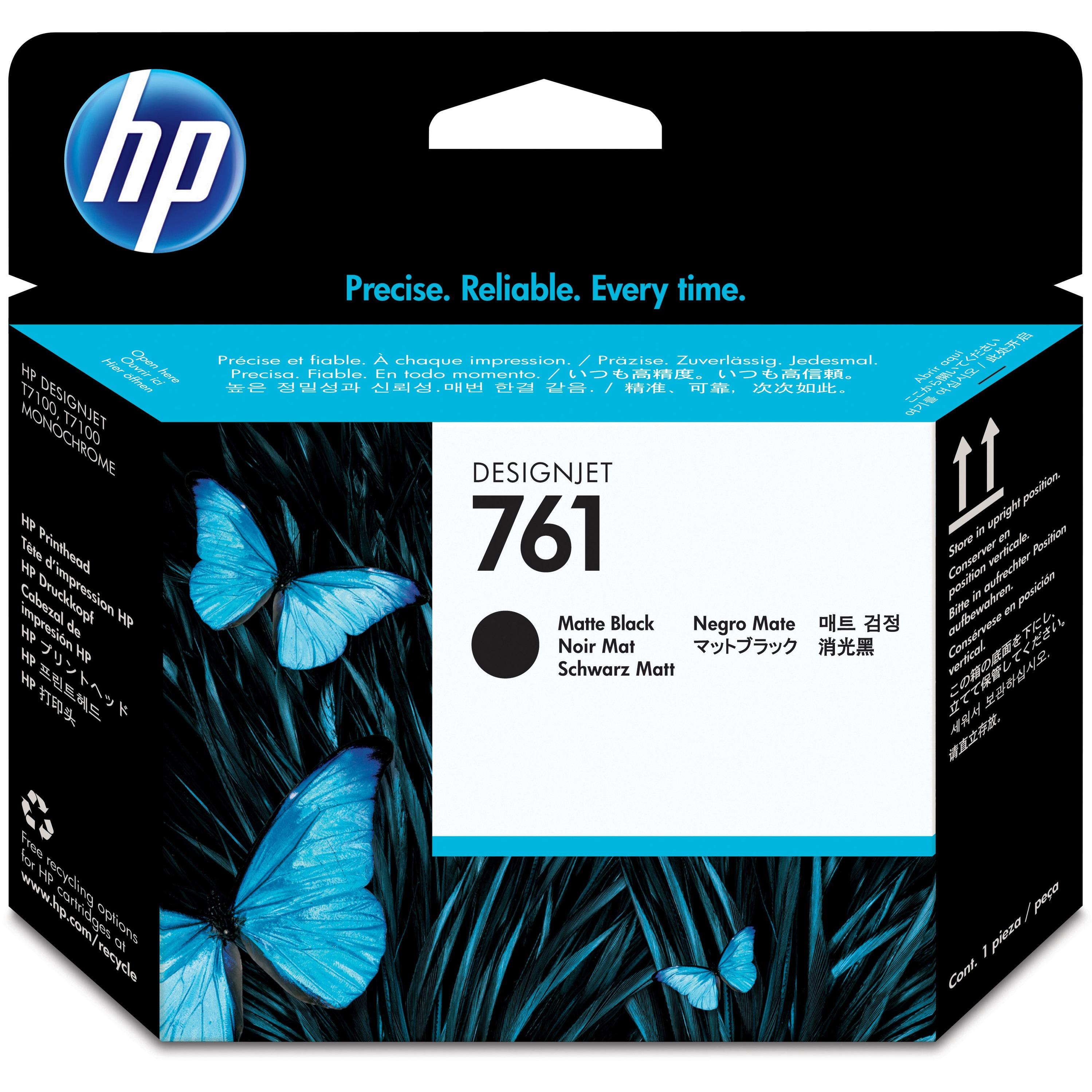 HP, HEWCH648A, CH645A/46A/47A/48A 761 Printheads, 1 Each