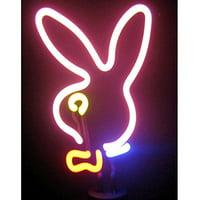 Neonetics Indoor Decoratives Bunny Head Neon Sculpture
