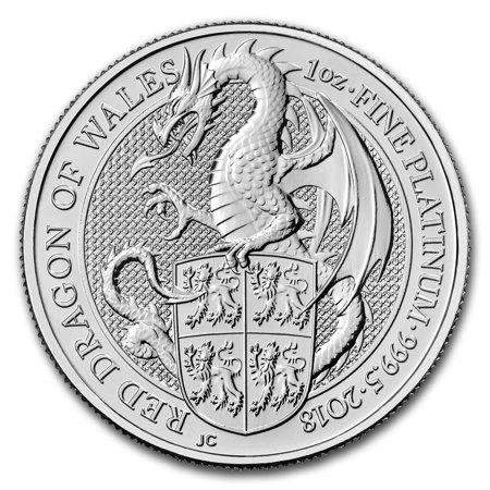 2018 Great Britain 1 oz Platinum Queen