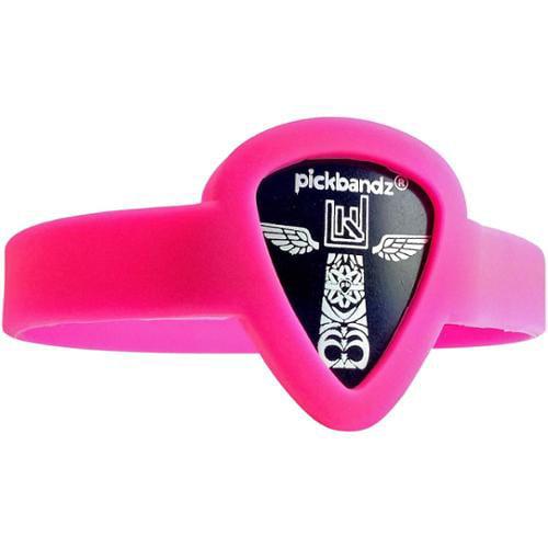 Pickbandz Pick-Holding WristBand Hollywood Pink Medium to Large