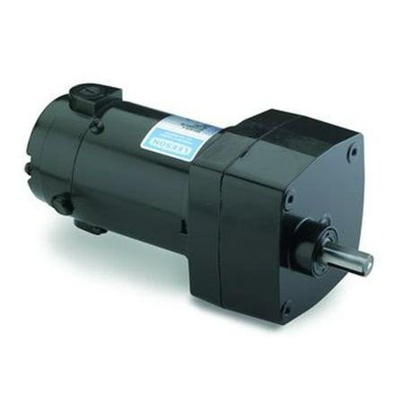 Leeson Parallel Shaft 1/17 hp, 100 RPM 180VDC Electric Gear Motor # M1125035