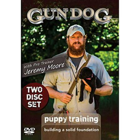 Dog Bone Gun Dog Puppy Training: Building a Solid Foundation 2 DVD Set DGDPF (Pointing Dog Training Dvd)