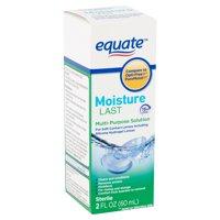 Equate Moisture Last Multi-Purpose Solution, 2 fl oz