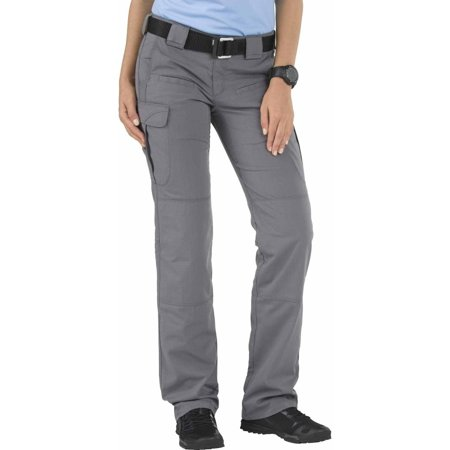 5.11 Tactical Women's Stryke Pant with Flex-Tac Rip Stop, Storm (Packable Storm Pant)