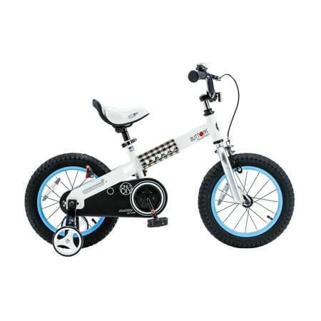 RoyalBaby Buttons Blue 14 inch Kids Bicycle