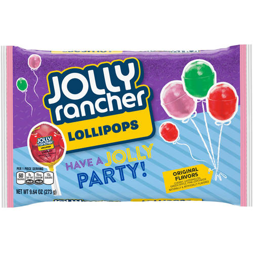 Jolly Rancher Birthday Lollipops Candy, 9.64 oz by The Hershey Company