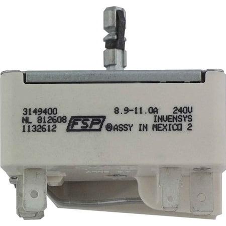 Whirlpool 3149400 Infinite Switch for Range