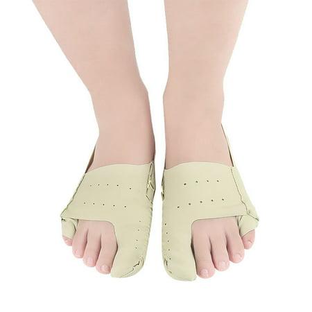1 Pair Big Foot Bones Toe Separator Hallux Valgus Orthopedic Shoes Bunion Corrector