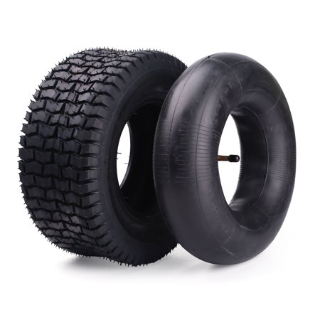 12x5.00-6 Inner Tube for Razor Dirt Quad (Versions 19+) and Go Kart, Dirt Bike, ATV, Yard Tractors, Lawn Mower, Wagons, Hand Trucks 12x5-6 LotFancy Inner Tube with TR87 Bent Metal Valve Stem (Chart Tube)