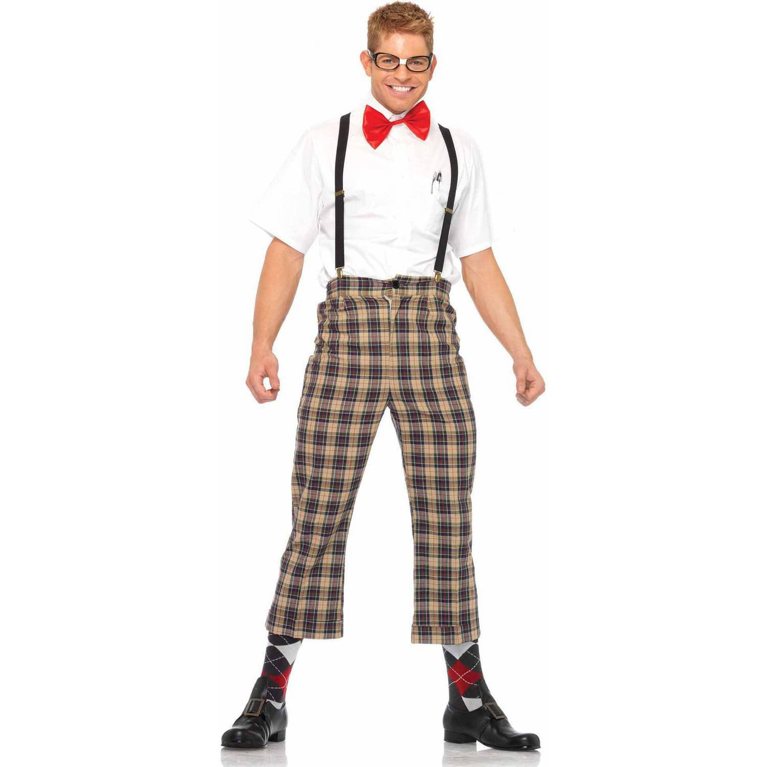Leg Avenue 4-Piece Nerdy Ned Adult Halloween Costume