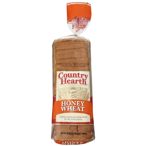 Country Hearth Honey Wheat Bread, 20 oz
