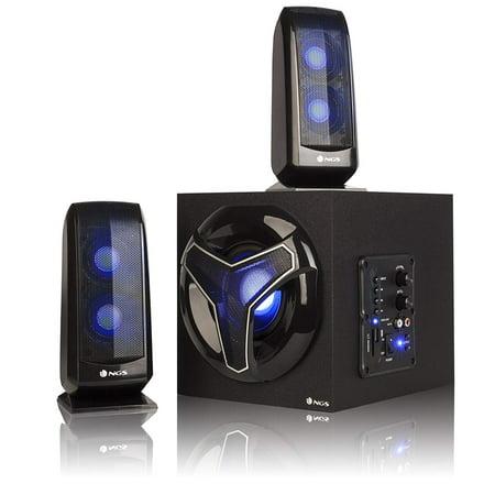 NGS 80W 2.1 Gaming Speaker System Model GSX-210