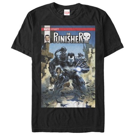 Marvel Men's Legacy The Punisher T-Shirt - The Punisher Suit