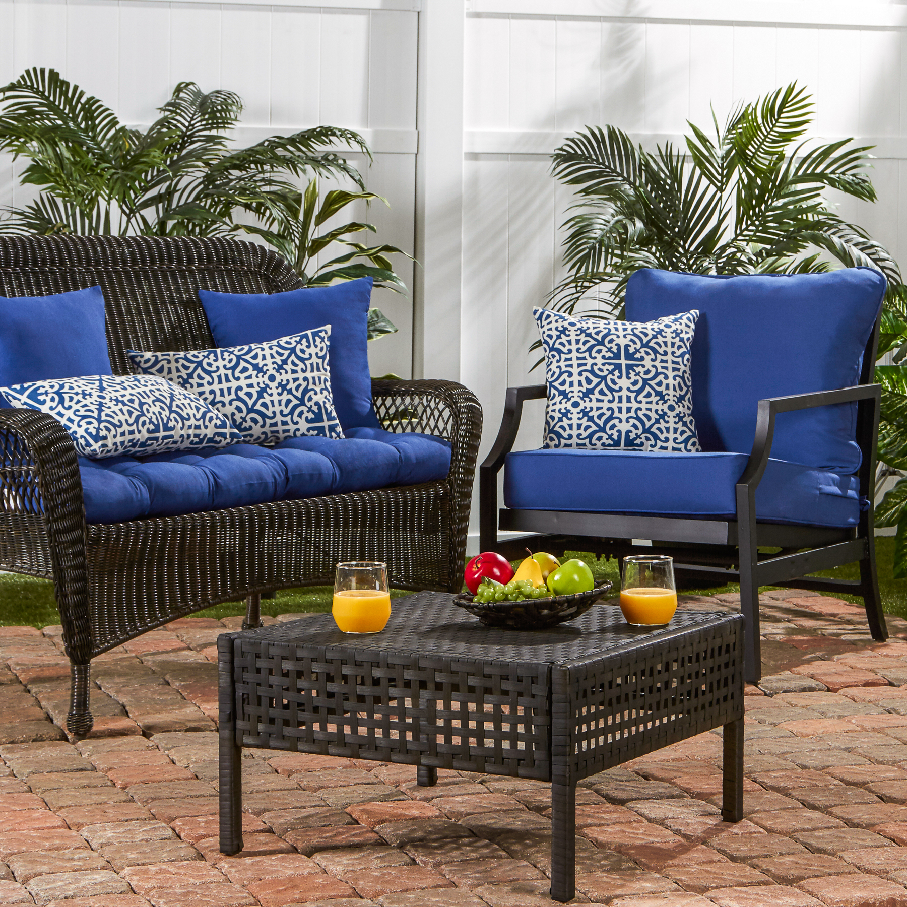 Rollbacks - Greendale Home Fashions Marine Outdoor Cushion Collection