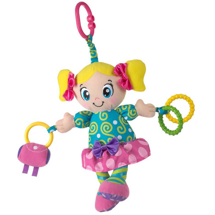 "Playgro Squeek, 10"" Lucy Doll"