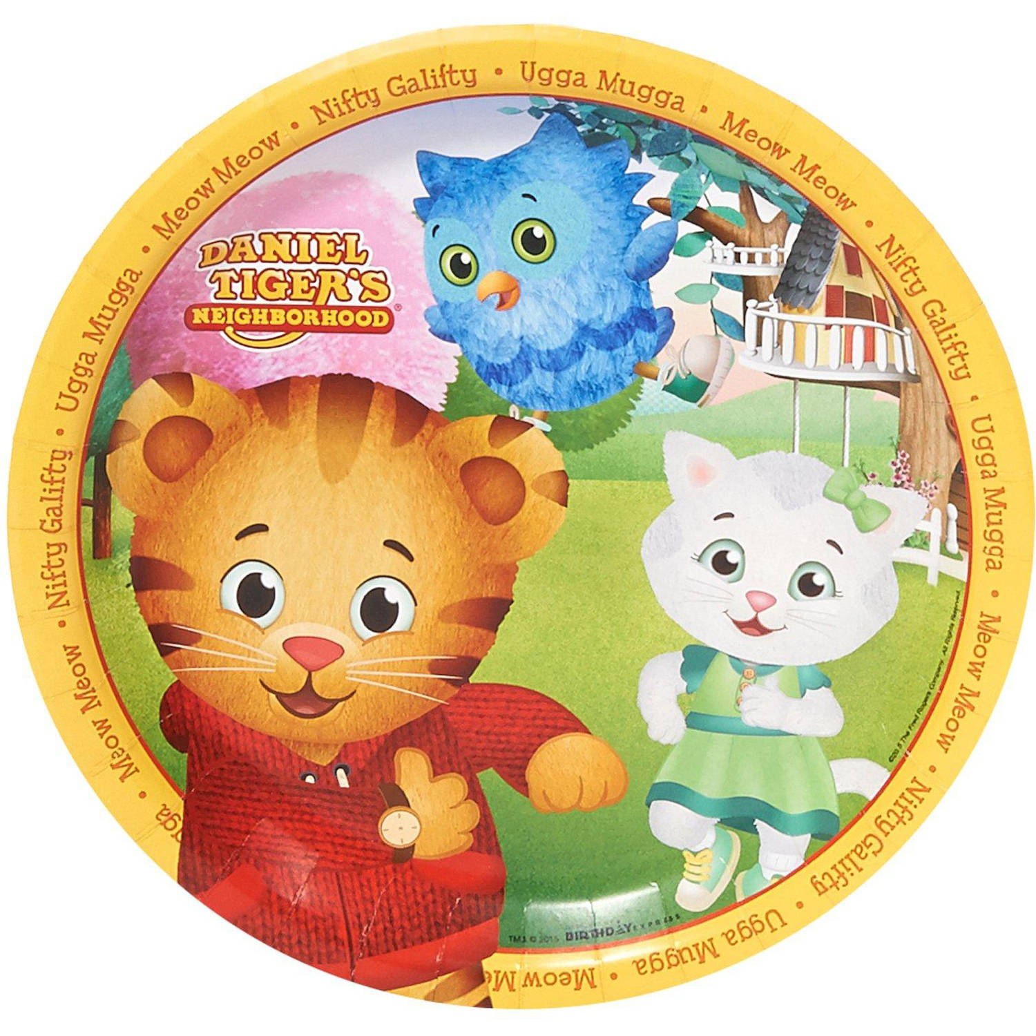 Daniel Tiger's Neighborhood Dinner Plates