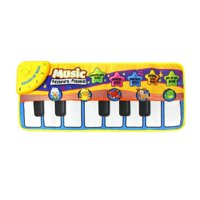 Baby Music Carpet Kids Music Mat Education Children Piano Pad Toy Blanket Mat 72x29cm