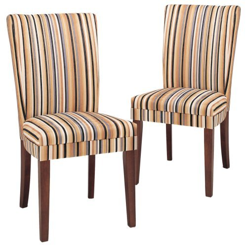 Homelegance Razz Print Parsons Dining Chair - Set of 2