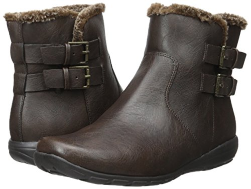 Easy Spirit Women's Amada Boot, Dark Brown, 6 M US
