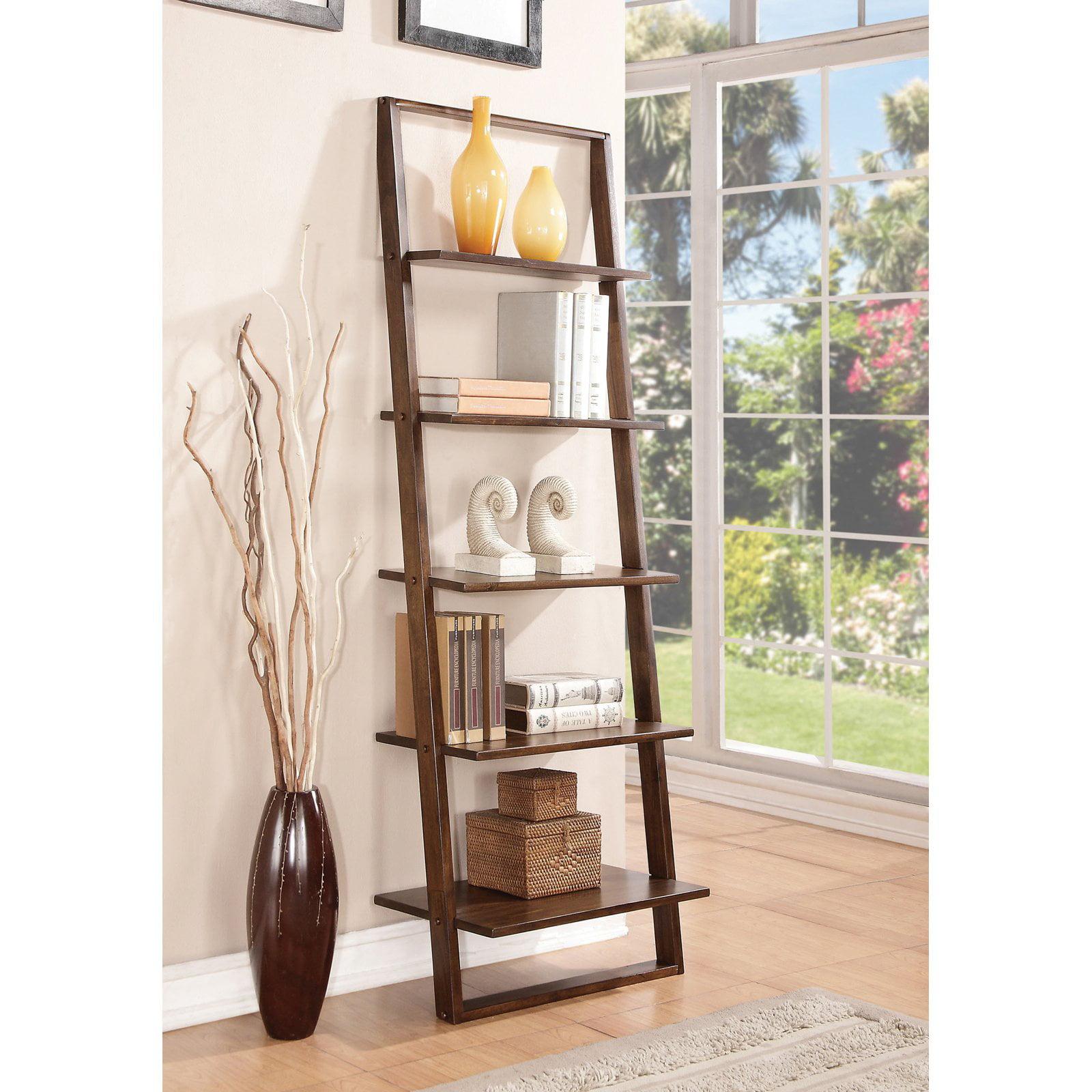 Riverside Lean Living Leaning Bookcase   Walmart.com